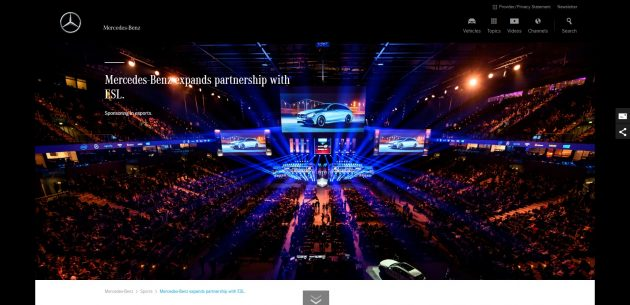 Mercedez Benz Big Brands That Use WordPress 2018