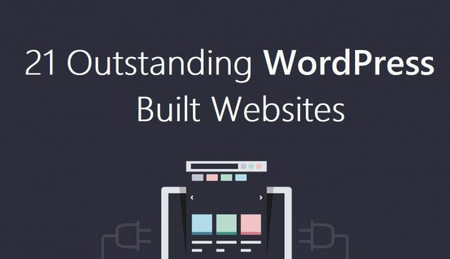 21 Outstanding WordPress Built Website