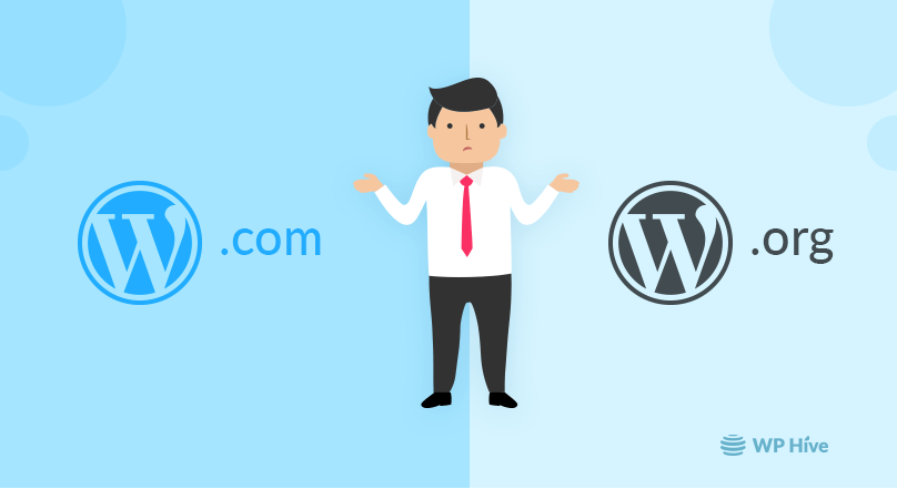 WordPress.com vs WordPress.org Comparison – Pros and Cons [2021]