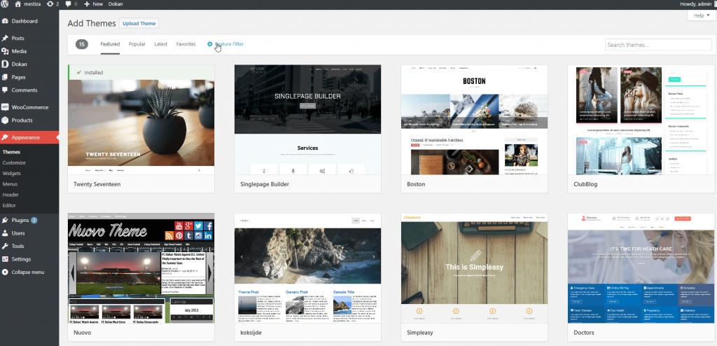 WordPress vs Squarespace Themes
