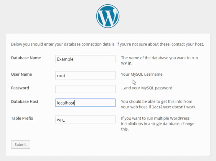 wordpress wamp server tutorial