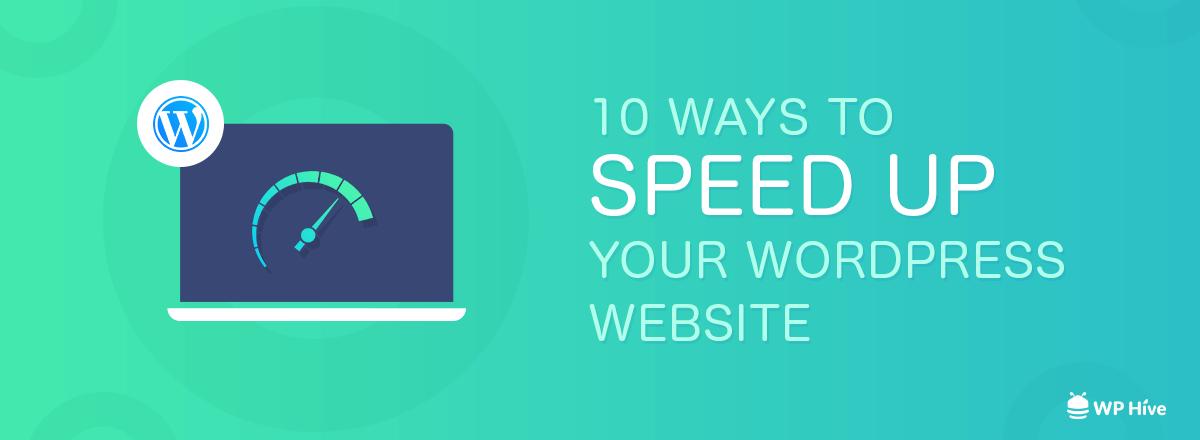 Top 10 Ways to Improve PageSpeed on WordPress Websites [2021] 1