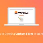 Create Forms on WordPress