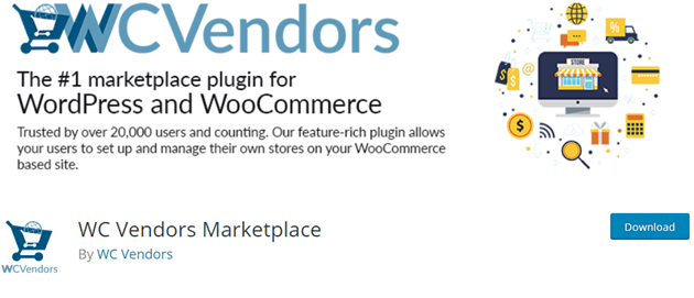 WC Vendors - Start a marketplace using WordPress