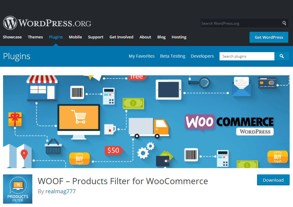 Woof- create e-commerce website using WordPress