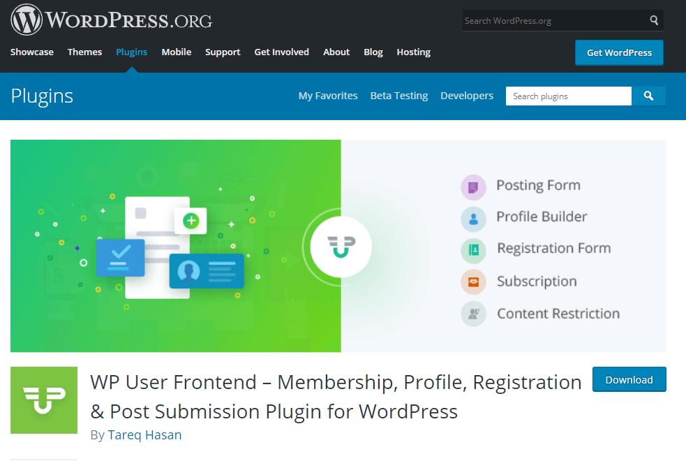 wpuf- how to create a news website in WordPress