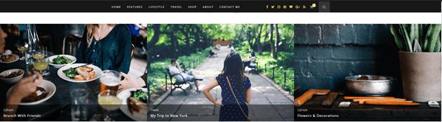 best WordPress theme for bloggers Hemlock