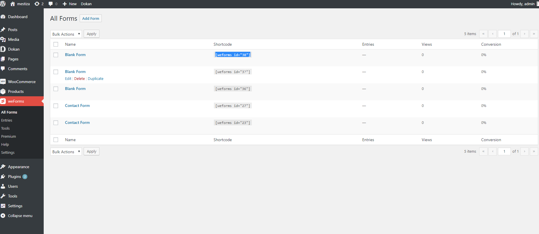 [Step by Step] How to Create Custom Forms on WordPress 3