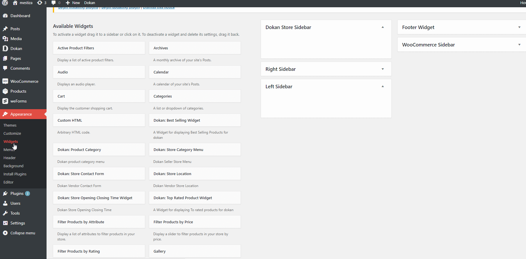 Add WordPress Widget