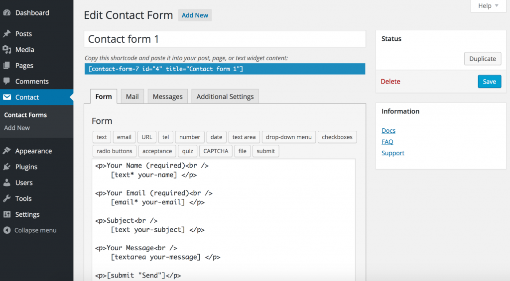 Top 5 Best Contact Form Plugins for WordPress Compared [2021] 2