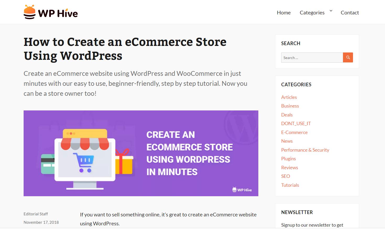 wphive- best WordPressblogs