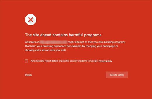 Harmful Programs Error