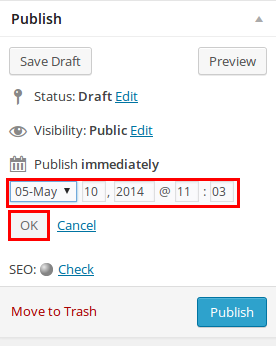 How to Schedule WordPress Posts - Step by Step [2021] 1