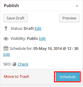 How to Schedule WordPress Posts - Step by Step [2021] 2