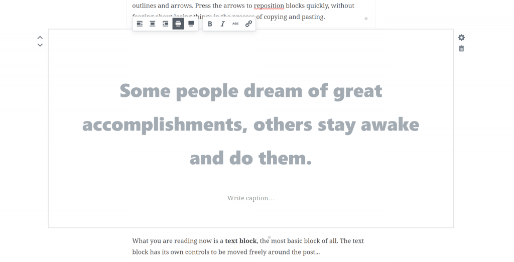 gutenberg-pullquotes WordPress 5.0 Review