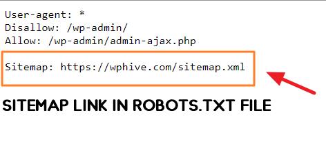 sitemap robots.txt