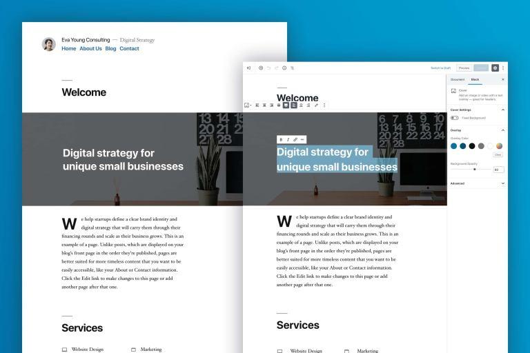 twenty-nineteen WordPress 5 Whats new