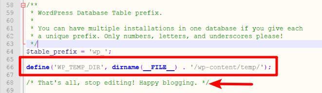 WordPress Image Error Edit