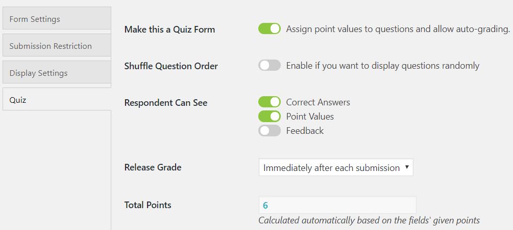 wordpress exam plugin