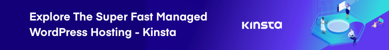 Explore the super fast managed WordPress Hosting Kinsta
