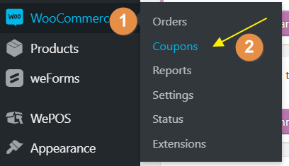 Beginners's Guide to Create Coupon Codes with WooCommerce 6