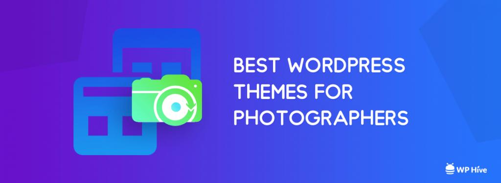 WordPress theme for photographers