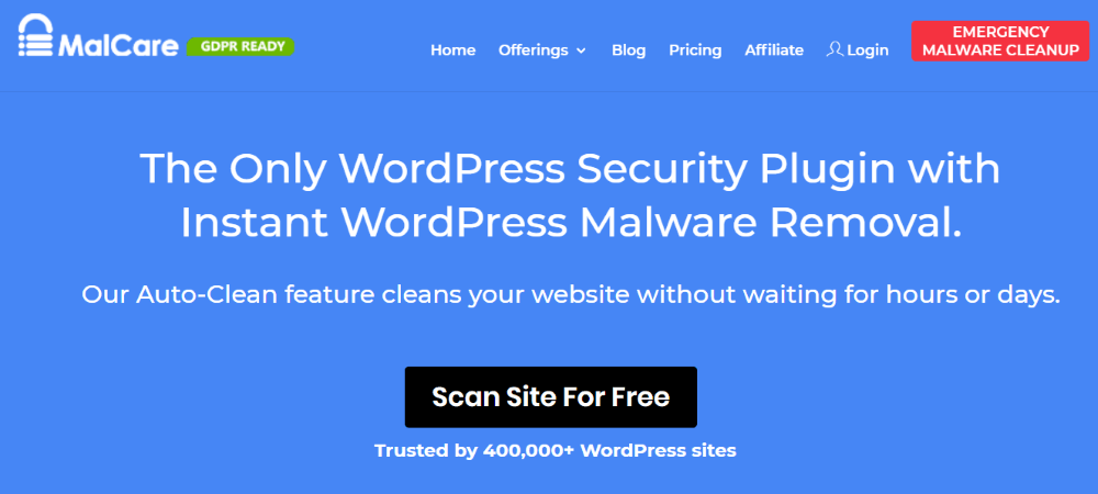 Malcare WordPress Security Plugin