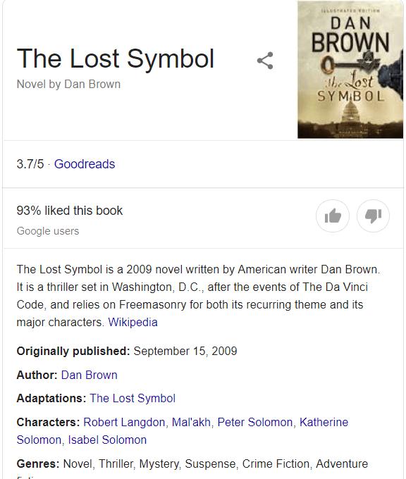 Schema Markup - Google Search
