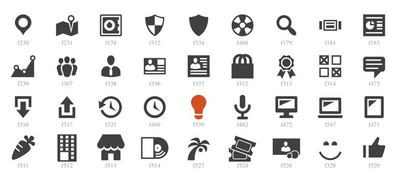 New Dashboard Icons