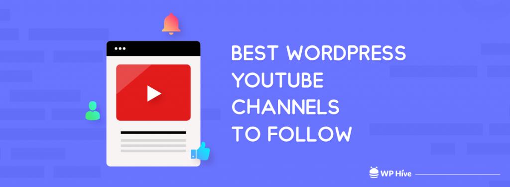 Best WordPress YouTube channels