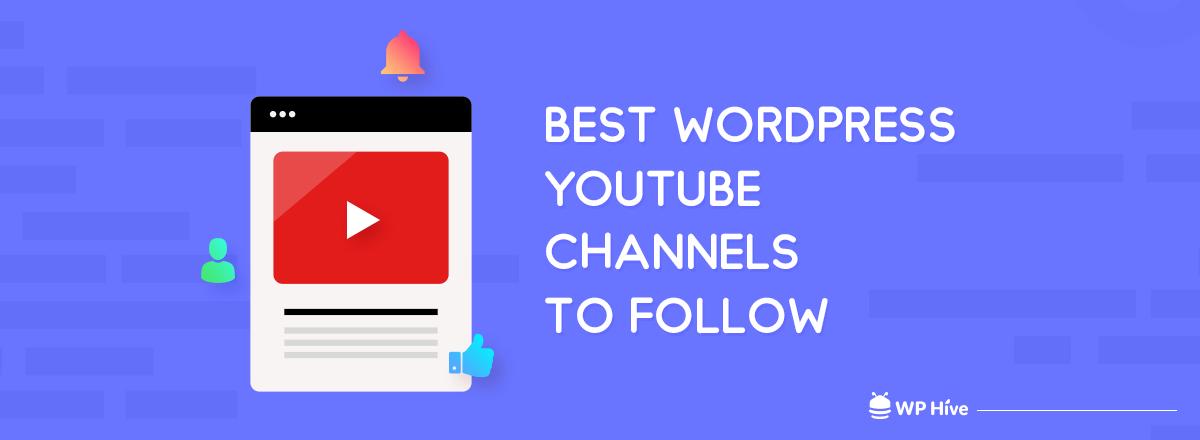 Best WordPress Channels to Follow on YouTube 2