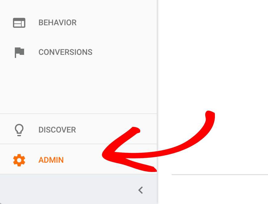 Admin Settings Analytics