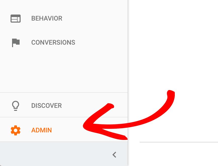 Admin Settings Analytics