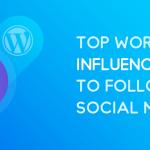 WordPress Influencers