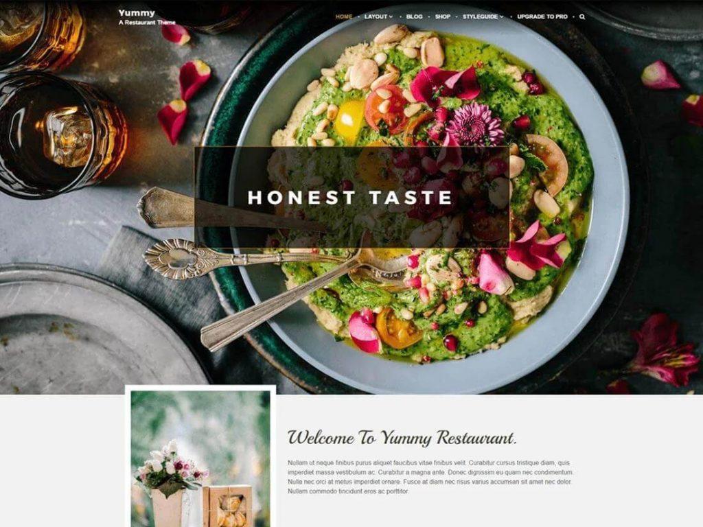 Yummy Pro WordPress Theme