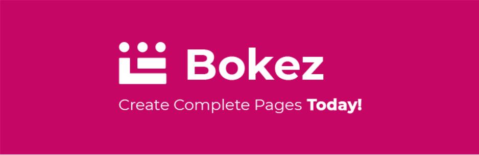 Bokez – WordPress Blocks