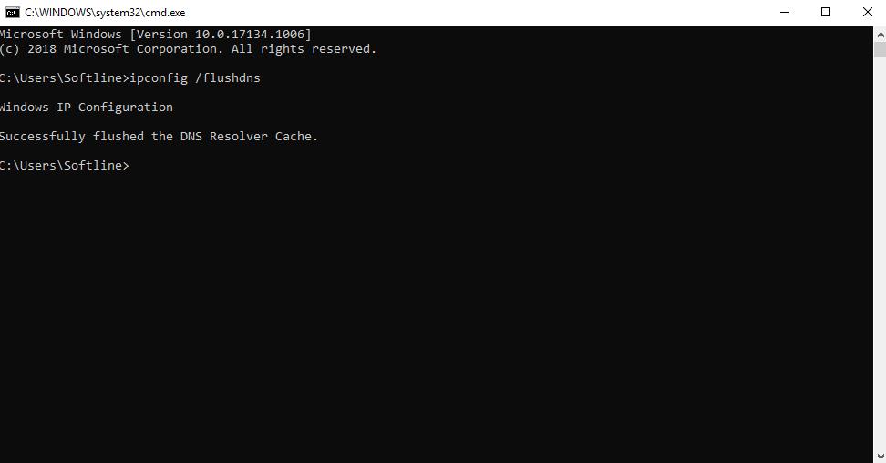DNS Clear Cache