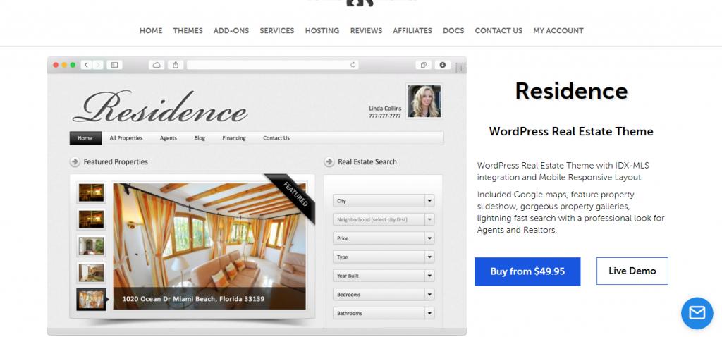 Residence Real Estate Theme