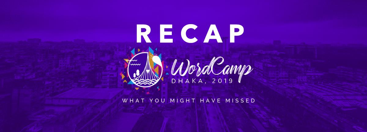 Wordcamp Dhaka Recap