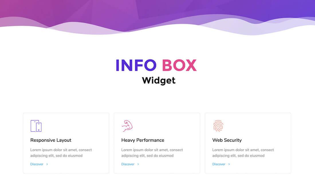 Happy Addons Elementor Infobox