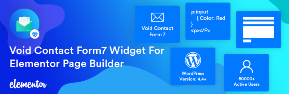 Void Contact Form 7 Widget For Elementor Page Builder
