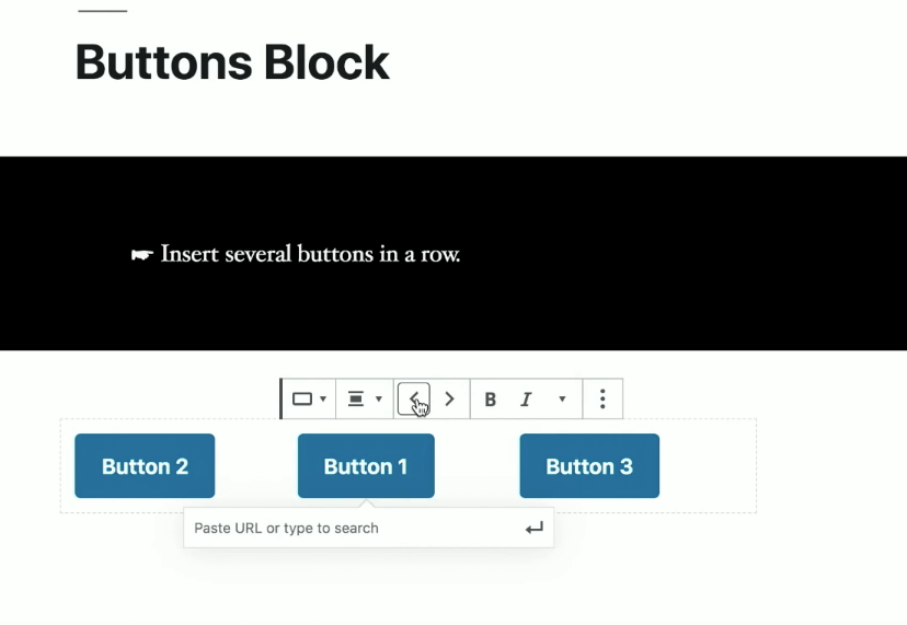 Multilayout Button Blocks