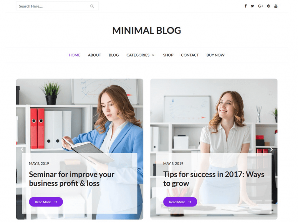 21 Best Minimalist WordPress Themes for 2021! 10
