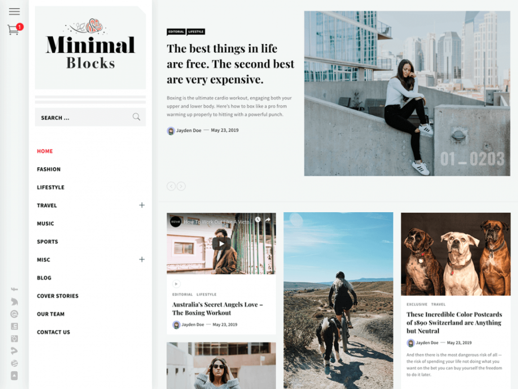 21 Best Minimalist WordPress Themes for 2021! 13