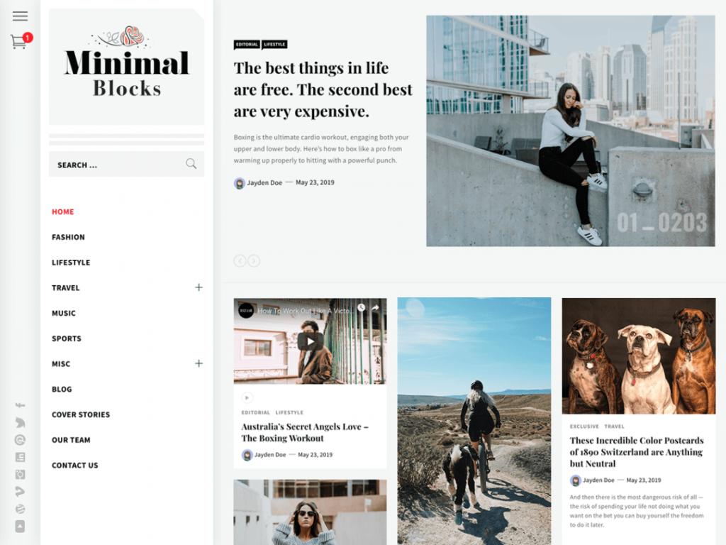 21 Best Minimalist WordPress Themes for 2021! 12