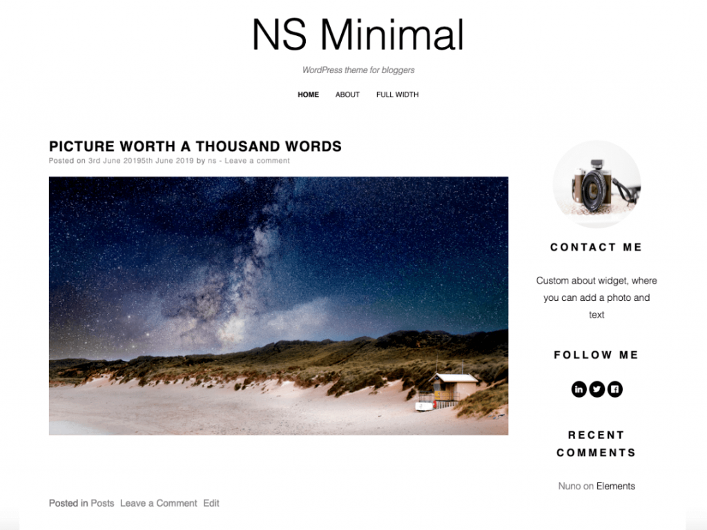 21 Best Minimalist WordPress Themes for 2020! 14