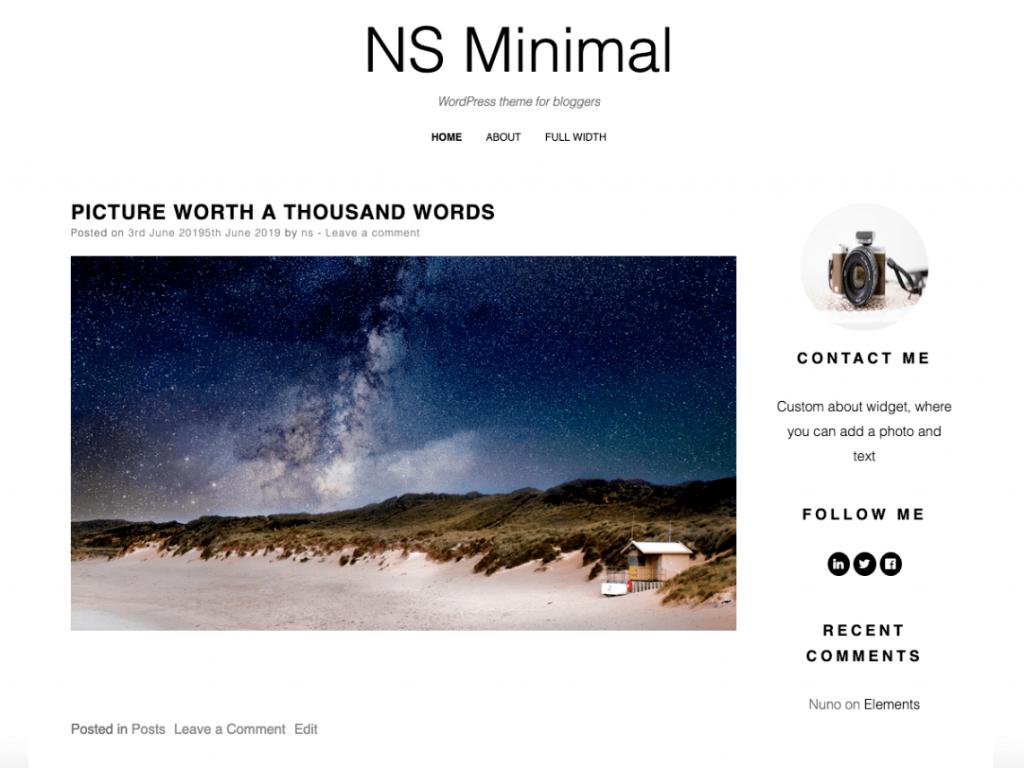 21 Best Minimalist WordPress Themes for 2021! 13
