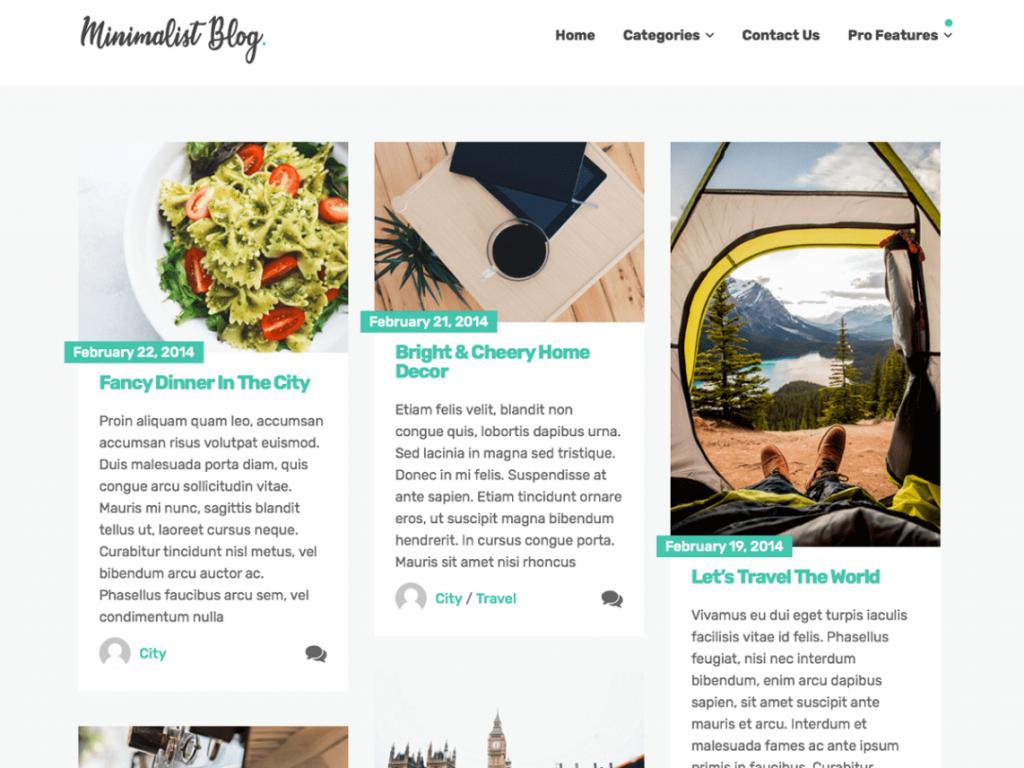 21 Best Minimalist WordPress Themes for 2021! 14