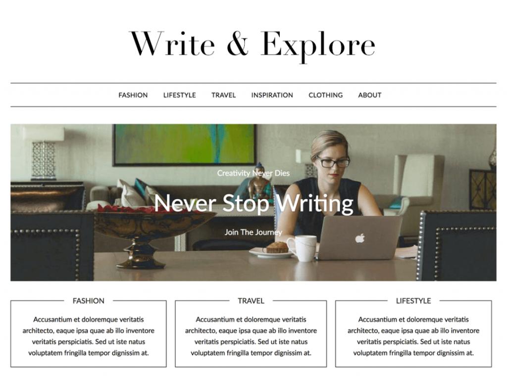 21 Best Minimalist WordPress Themes for 2021! 4