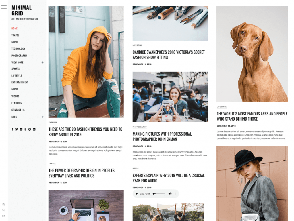21 Best Minimalist WordPress Themes for 2021! 5